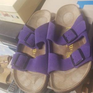 Nubuck Birkenstock sandals